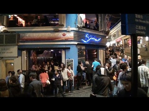 Hong Kong Nightlife-SoHo and Lan Kwai Fong