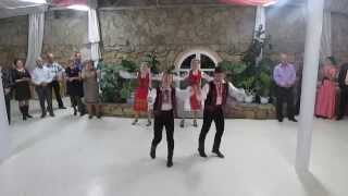 Молдавские народные танцы. Свадьба сестры, 17.10.2014