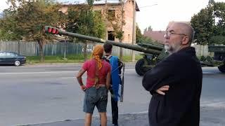 Большая колонна ВСУ едет на Донбасс