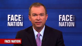 """Mick Mulvaney says the Trump administration wants """"the best tax bill that can pass"""""""