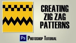 Zig Zag Patterns with Photoshop