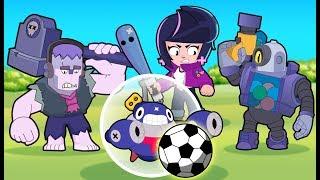 Brawl Stars Animation | TICK in BRAWL BALL Mode (Parody)