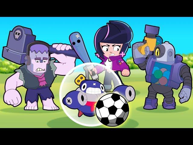 Brawl Stars Animation   TICK in BRAWL BALL Mode (Parody)
