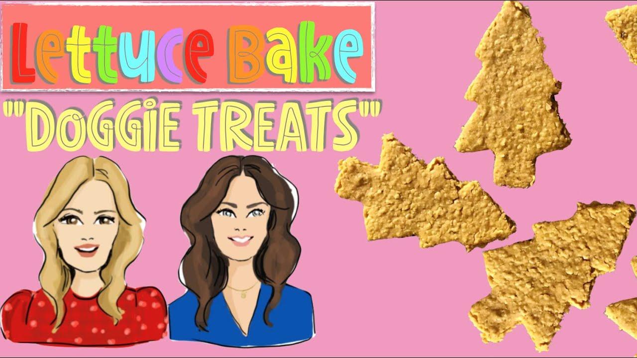 Lettuce Bake Doggie Treats by Baker Sisters Jean and Rachel