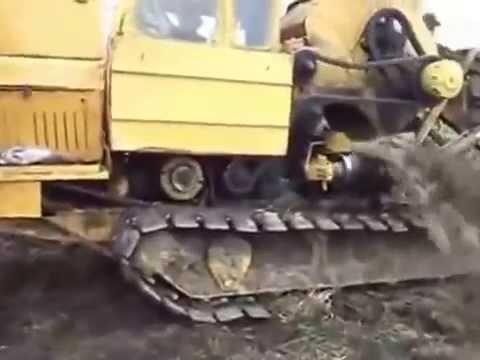 Экскаватор цепной траншейный Таллэкс ЭТЦ-202б