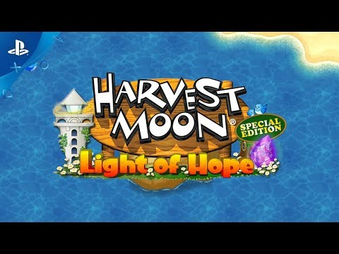 Harvest Moon: Light of Hope Special Edition - Official Trailer | PS4