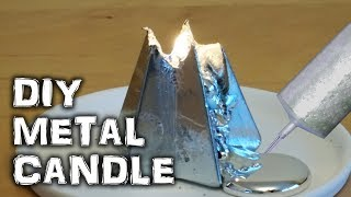 Can you Make a Gallium Metal Candle?