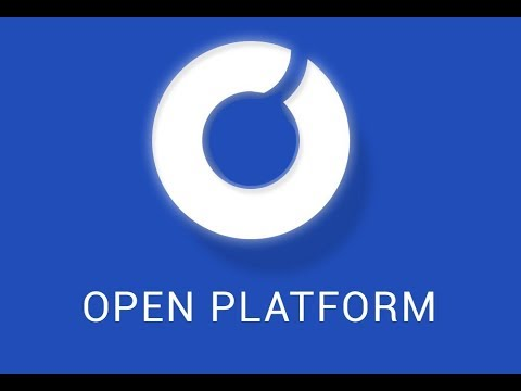 Open Platform - The first blockchain infrastructure for applications