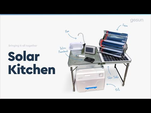 Solar Kitchen: Cook, Cool, Charge, Clean, and Brew