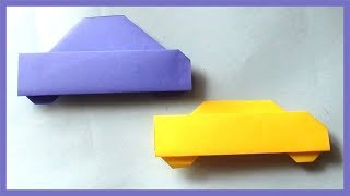 Easy Paper Car Origami   How to Make Simple Paper Car