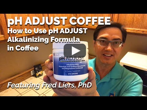 PH ADJUST COFFEE – How To Use PH ADJUST Alkalinizing Formula In Coffee