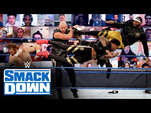 Eight-Man Tag Team Match: SmackDown, Nov. 20, 2020