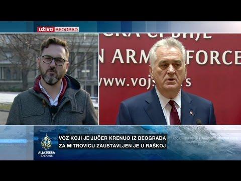 Subotić o oštrim reakcijama Nikolića na zaustavljanje voza
