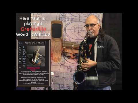 SUGAL  Mouthpiece Demo  at 2017 NAMM show - by Paul Perez