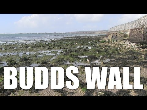 Budds Wall - Sheltered Shore Fishing Mark In Langstone Harbour, Hampshire, England, UK