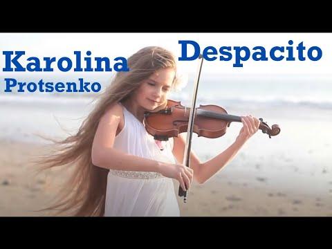 Wow how she plays the Goddess of Music - Karolina Protsenko(Violin Cover)
