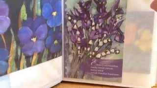 Обзор моей мини коллекции открыток!