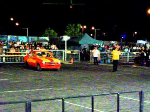 vegas motor show crazy driver