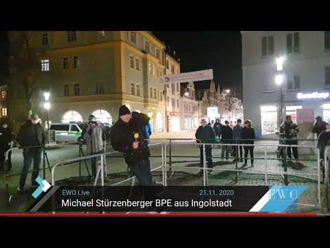 Michael Stürzenberger BPE Live aus Ingolstadt