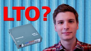 What the Heck are LTO Drives? - ThioJoeTech