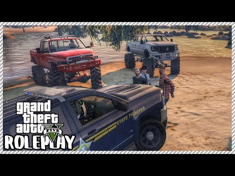 GTA 5 ROLEPLAY - Arrested For Illegal Off-Roading | Ep. 285 Civ