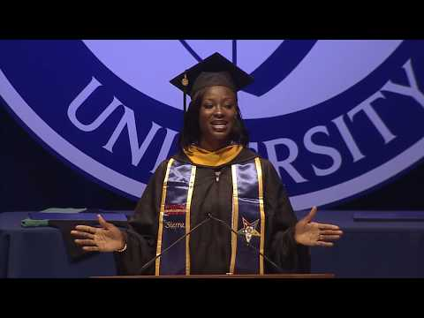 SNHU Student Speaker Relates to Graduates' Hard-Fought Degrees