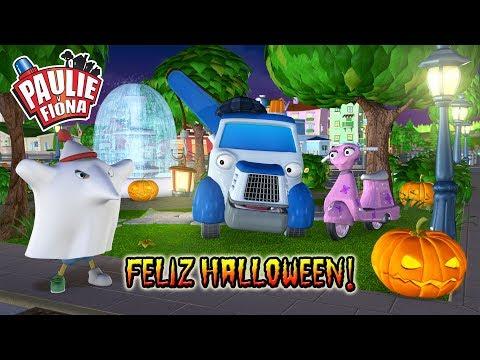 Paulie y Fiona | Feliz Halloween | Caricaturas para Niños | Caricaturas en Español