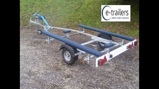 Gambar cover EXTREME 350 Bunk Inflatable Boat Trailer
