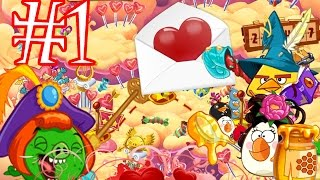 Angry Birds Epic: Part-1 Event Portal First 6Min Gameplay [Valentine's Day Level 1-3] iOS, Android