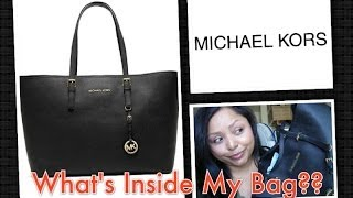 What's Inside My Bag Michael Kors Thumbnail