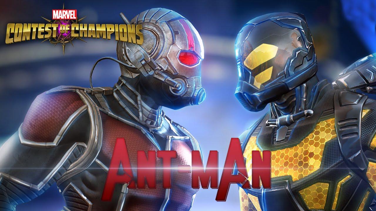 Antman el Hombre Hormiga en Marvel Batalla de Superhroes  YouTube