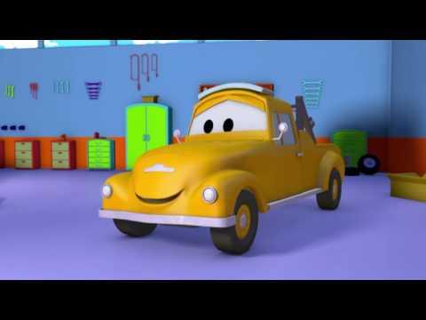 Süper Kamyon Carl ve Dev Elf Kamyonu , Araba Şehri'nde   Çocuklar için kamyon çizgi filmi