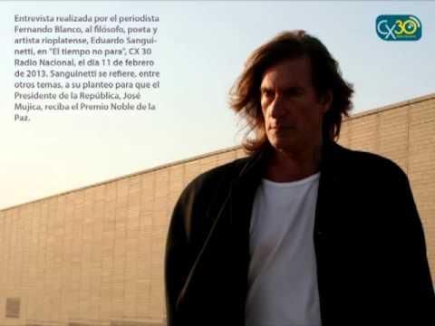 Eduardo Sanguinetti - Entrevista en CX 30 Radio Nacional de Montevideo -