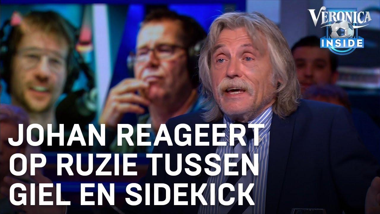Johan Reageert Op Ruzie Tussen Giel Beelen En Sidekick Veronica Inside Youtube