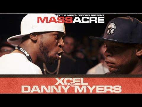 KOTD - Rap Battle - Xcel vs Danny Myers | #MASSacre