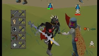 TESTING Baby 13 Defence Pure PKing Build in PVP