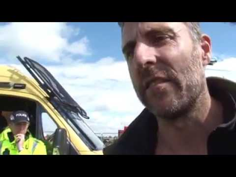 Final day of Rolling Resistance against fracking 31 July 2017