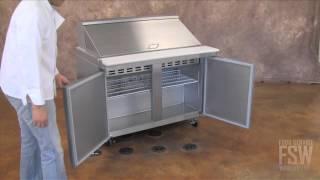 Metalfrio Mega-top Sandwich/salad Prep Table (sclm2)