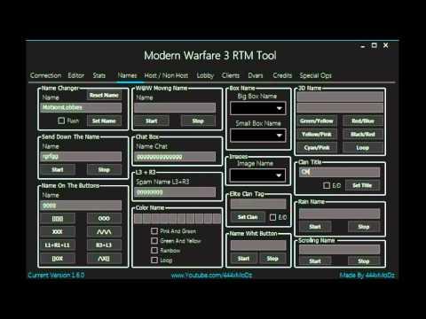 Call Of Duty Ghosts RawDog and ImSooCool RTM Tool (1 16