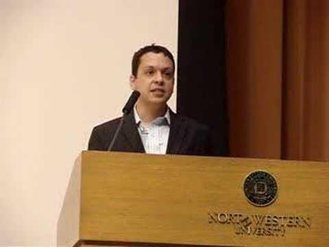 Markos Moulitsas, Northwestern University