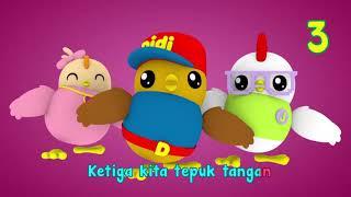 Download Lagu 1 2 3 | Lagu Anak-Anak Indonesia | Didi & Friends Indonesia