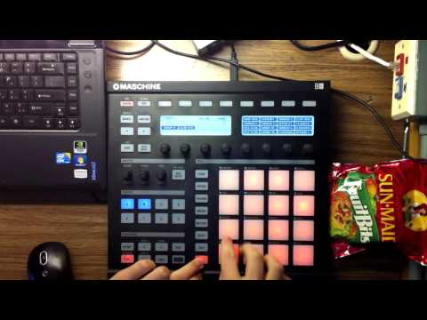 Another (old) Kanye Beat Remake - Paid The Price (early version) made in Maschine