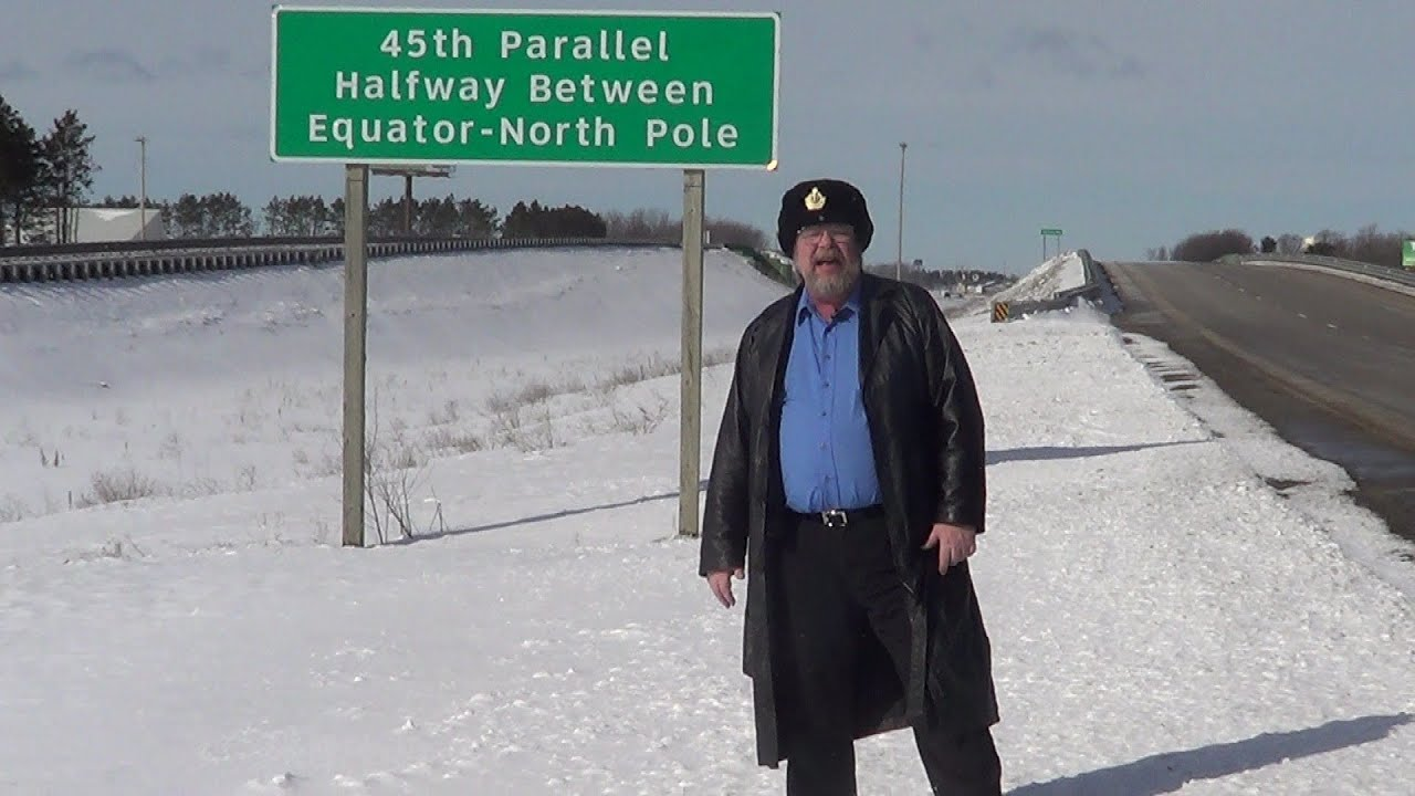 Th Parallel REAL USA Ep YouTube - 45th parallel map us