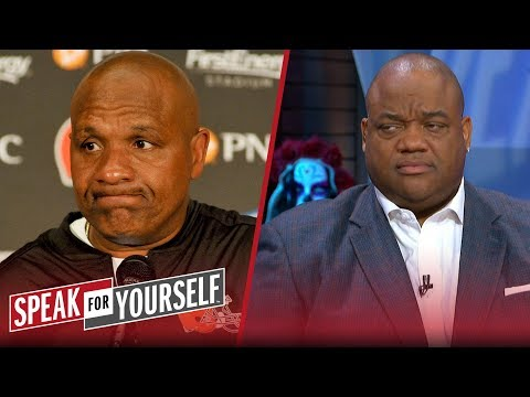 Whitlock and Wiley react to the Browns firing Hue Jackson and Todd Haley | NFL | SPEAK FOR YOURSELF
