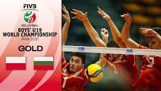 POL vs. BUL - FULL FINAL | Boys U19 Volleyball World Champs 2021