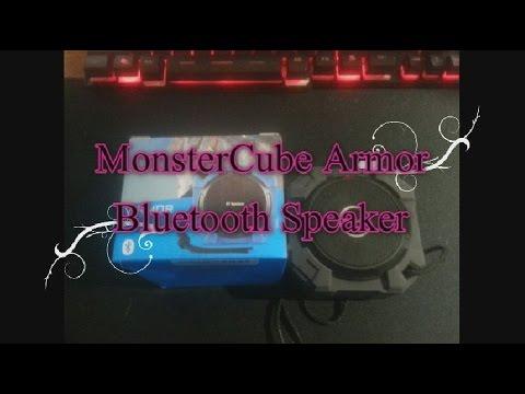 Monstercube Armor Wireless Bluetooth Speaker