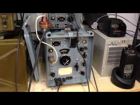 R-326 (P-326) soviet military receiver on 20 meters band