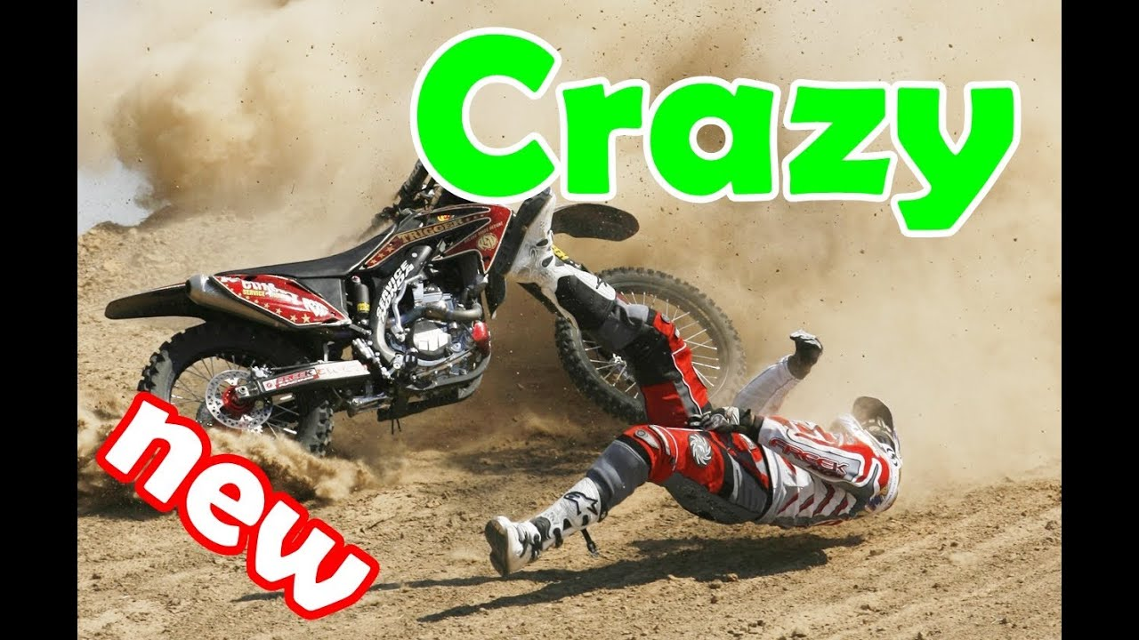 Dirt Bike Crashes Accidents Compilation Part 1 ● Very Crazy 2014 ...
