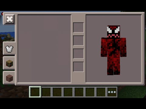 Minecraft PE Carnage Spiderman Skin Costume Download YouTube - Skins para minecraft pe de spiderman