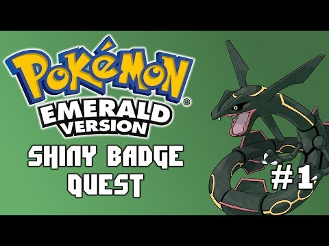 Time To Leave Littleroot | Pokemon Emerald Shiny Badge Quest Ep. 1